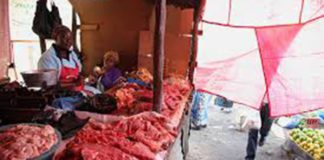 POLICE CRACK DOWN ON MEAT VENDORS