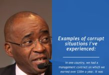 EXAMPLES OF CORRUPT SITUATIONS I'VE EXPERIENCED :MASIYIWA