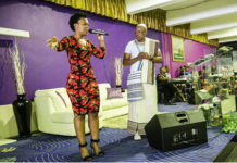 PICTURES :ZODWA IN CHURCH