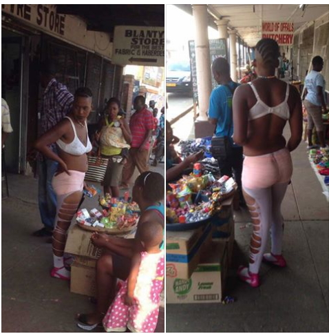 PICTURES :WANNA BE ZODWA CAUSES STIR IN GWERU