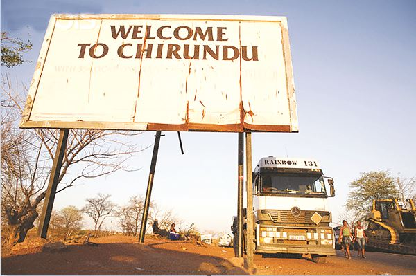 CHIRUNDU 1 STOP BORDER POST PROJECT TURNS INTO DUST