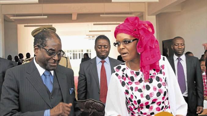 MUGABE ARRIVES IN URUGUAY, GRACE GOES SHOPPING IN SOCHI