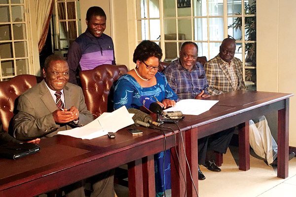 MDC ALLIANCES BLASTED FOR SOWING DISCORD IN PARLY