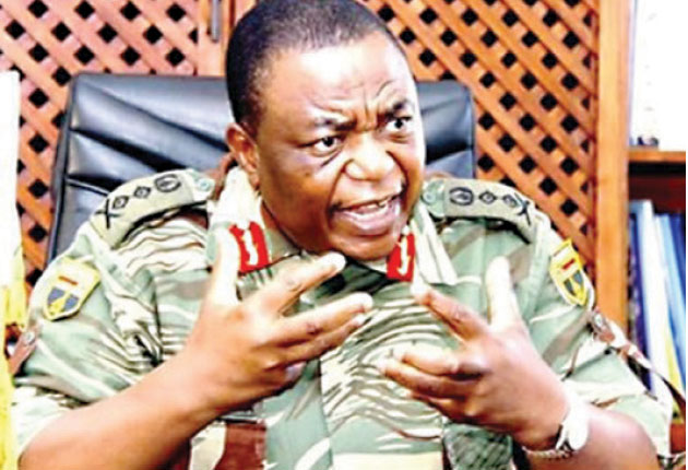 CHIWENGA WON'T STAB MUGABE IN THE BACK