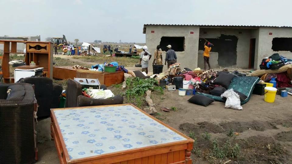 700 HOUSES DEMOLISHED IN HARARE