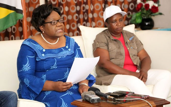 MUJURU KICKS OUT PARTY SPIES