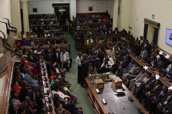 members-of-parliament-listening-to-the-presidential-address ZIMETRO ZW