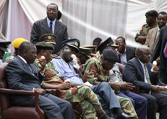 MUGABE SET TO RESHUFFLE SECURITY BOSSES