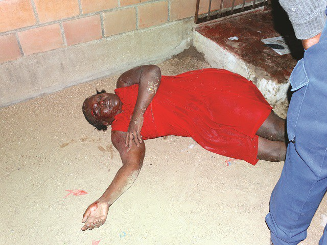 WIFE GOES GANGSTER ON SMALL HOUSE, COUP ENDS IN DISASTER