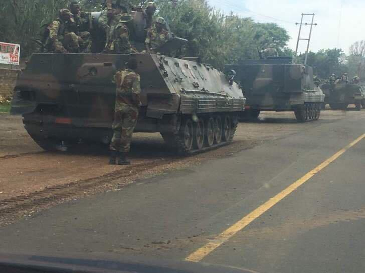 SOLDIERS, TANKERS RELEASED FROM BARRACKS !!