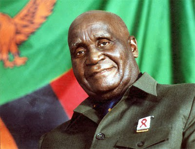 KENNETH KAUNDA IN THE COUNTRY, SET TO CONVINCE GRANDPA TO RESIGN