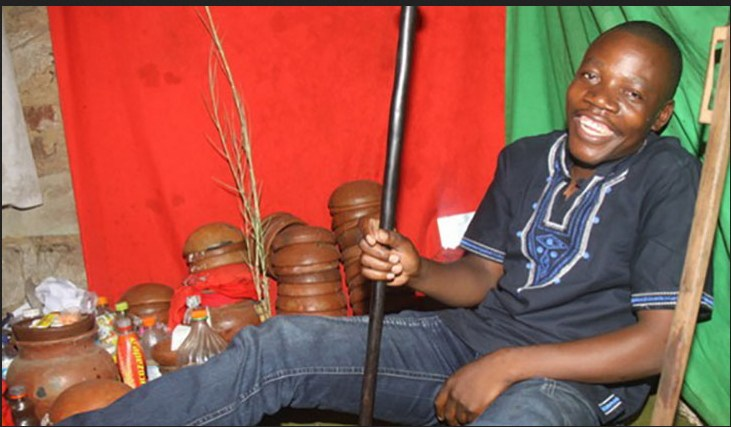 'Back to Sender' PROPHET CAUGHT IN SATANISM FUROR AND WITCHCRAFT CLAIMS