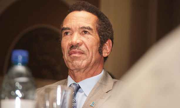 'I HAVE NO SYMPATHY FOR GRANDPA' KHAMA TEARS INTO MUGABE
