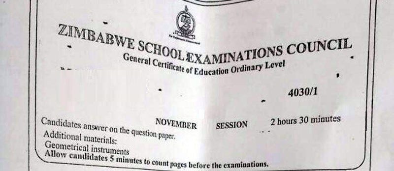 MAN LEAKS O' LEVEL ENGLISH PAPER