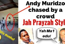DRAMA IN BANKET, ANDY MURIDZO RUNS FOR DEAR LIFE ESCAPING ANGRY CROWD