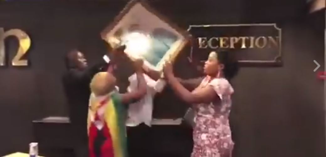 ACTIVISTS INTIMIDATE HOTEL STAFF & VANDALIZE PROPERTY AS THEY CELEBRATE