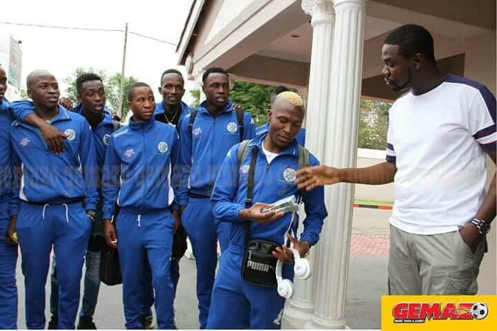 WARRIORS DEPART FOR NAMIBIA
