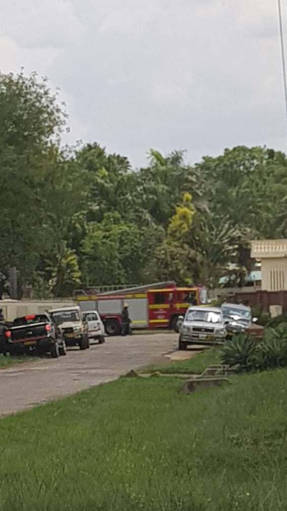 MYSTERIOUS FIRE AT CHIHURI'S HOUSE