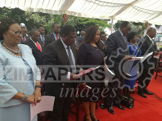 LIVE UPDATE: CABINET MINISTERS SWEARING-IN CEREMONY