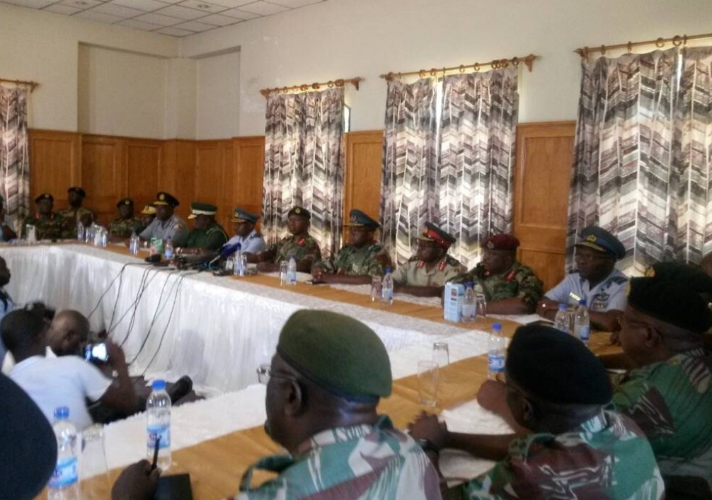 OPERATION RESTORE ORDER ENDS :ARMY HANDS OVER TO POLICE !