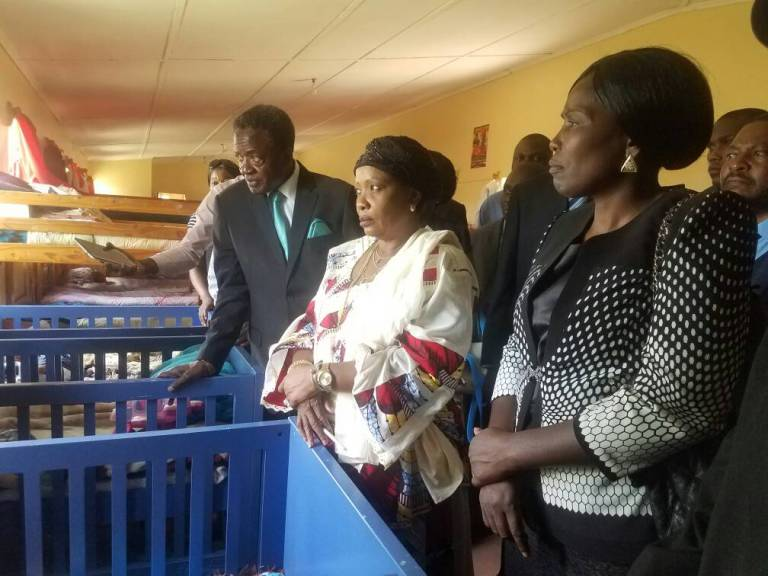First Lady visits Children's Home in Karoi