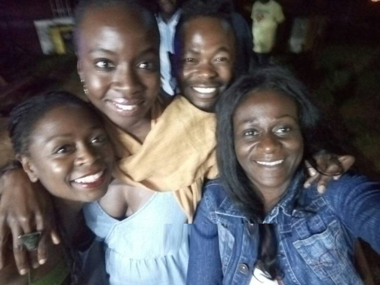 POPULAR WALKING DEAD ACTRESS DANAI GURIRA SPOTTED IN HARARE
