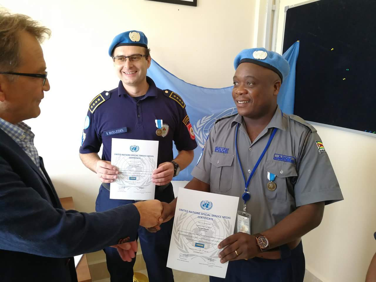 UN HONOURS ANOTHER ZIM POLICE OFFICER