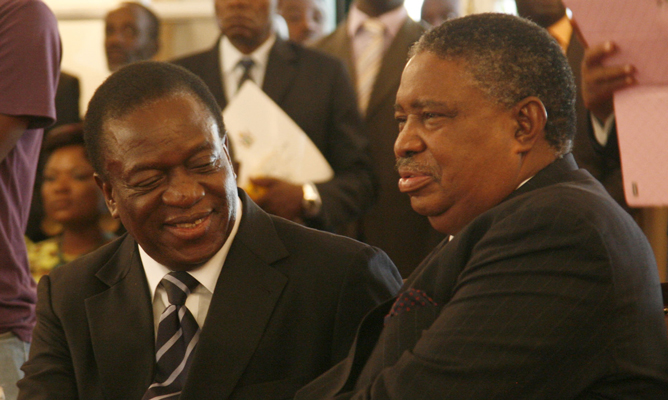 'Govt should not pay ex-VP Mphoko's retirement package'-says war vets