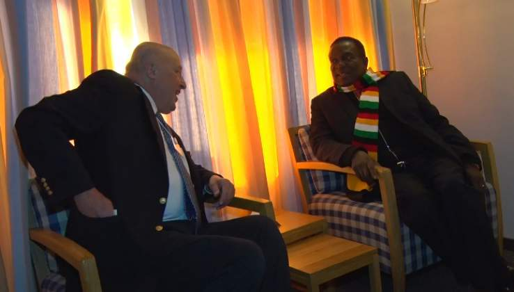 Top US official meets ED in Davos