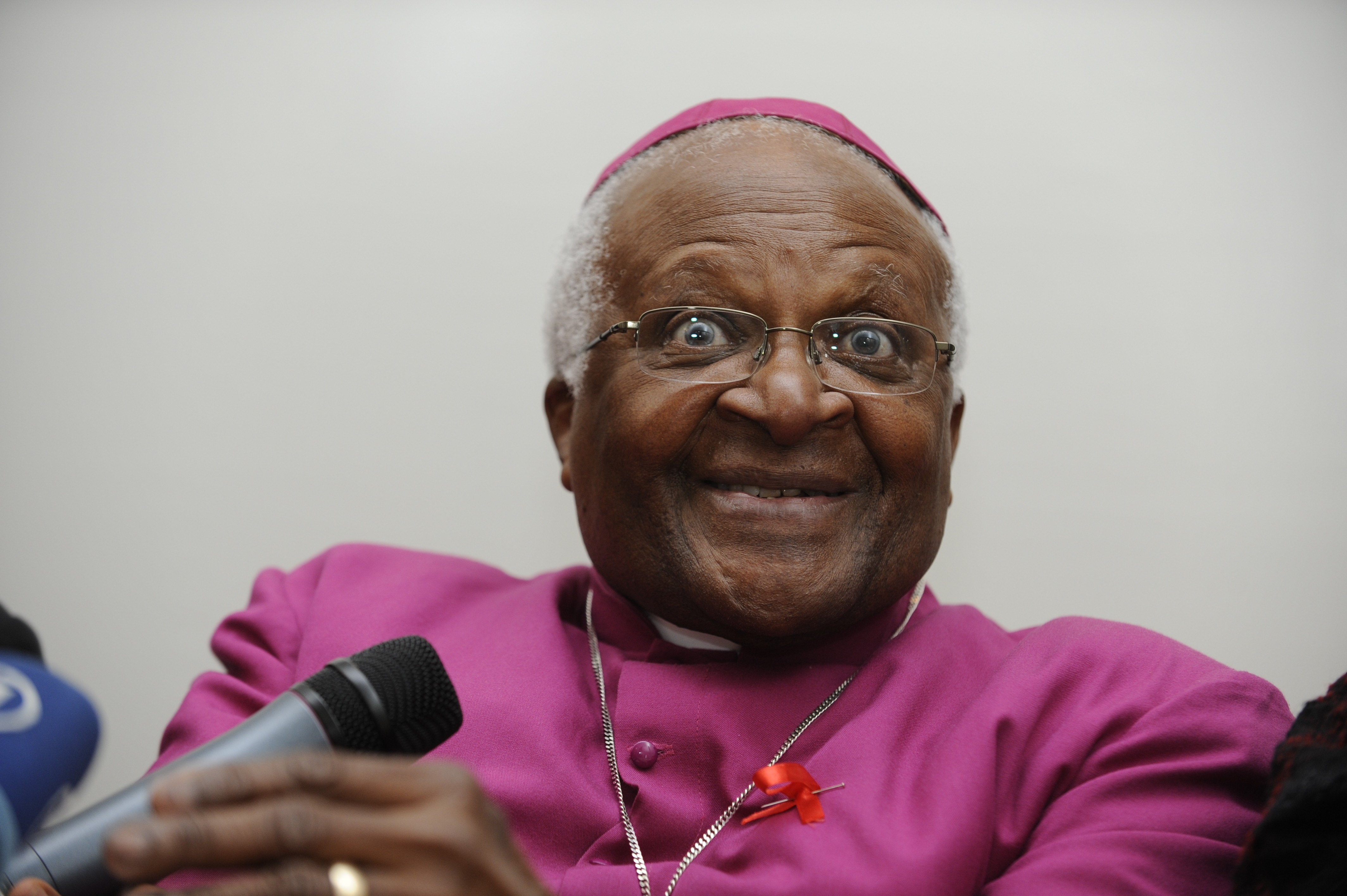 DESMOND TUTU SEVERE TIES WITH OXFARM OVER SX SCANDAL