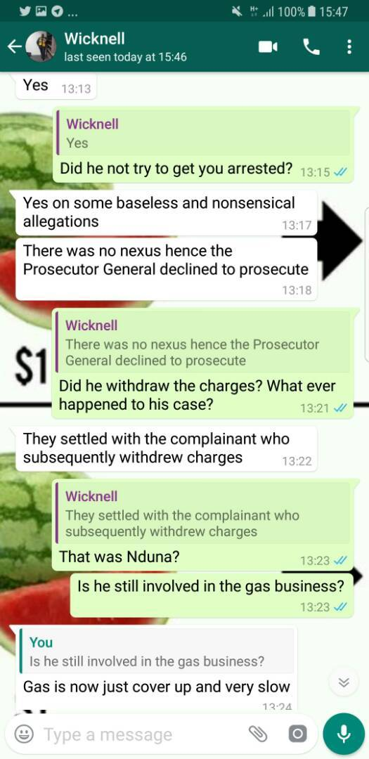 WICKNELL GOES TO WAR, EXPOSES THE TRUE SOURCE OF GINIMBI 'MY GUY'S' WEALTH