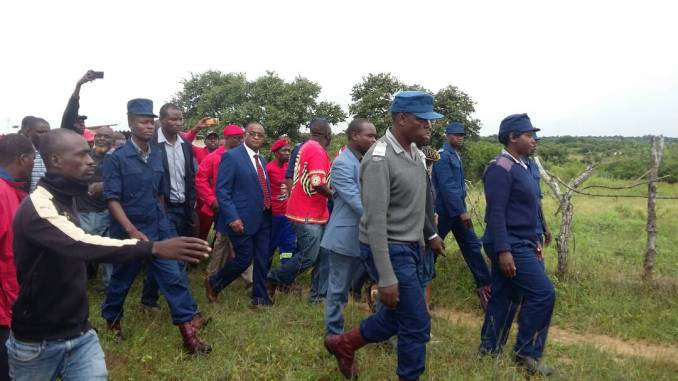 DRAMA AT TSVANGIA'S BURIAL, KHUPE AND MWONZORA CHASED