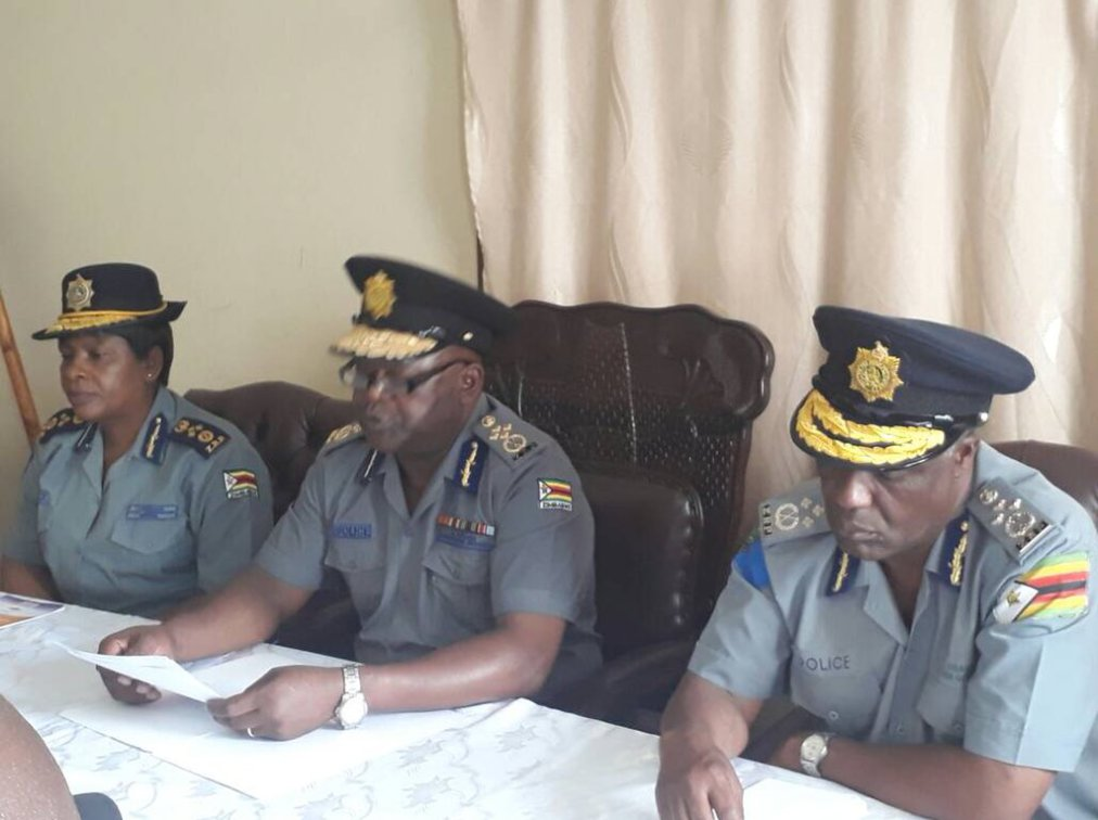 ZRP RELEASES STATEMENT ON YESTERDAY'S RIOT AND SHOOTING