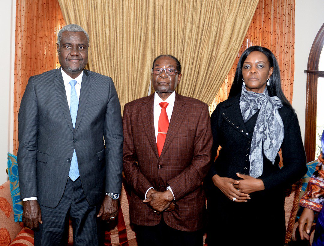NEW PICTURES : MUGABE, GUCCI GRACE