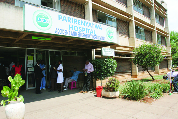 PARIRENYATWA HOSPITAL HIT BY WATER CRISIS