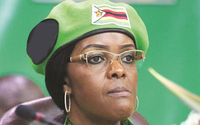 GRACE MUGABE NAMED IN IVORY TRAFFICKING SCANDAL