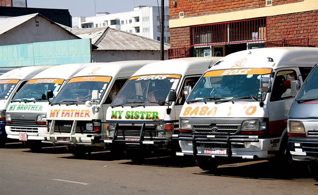 HARARE COUNCIL TARGETS BRANDED KOMBIS