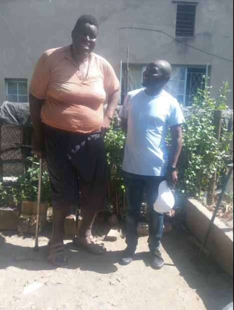 ZIM'S OWN GOLIATH 'BIG CHARLIE' PLEADS FOR HELP
