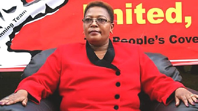 KHUPE POSTPONES MDC CONGRESS