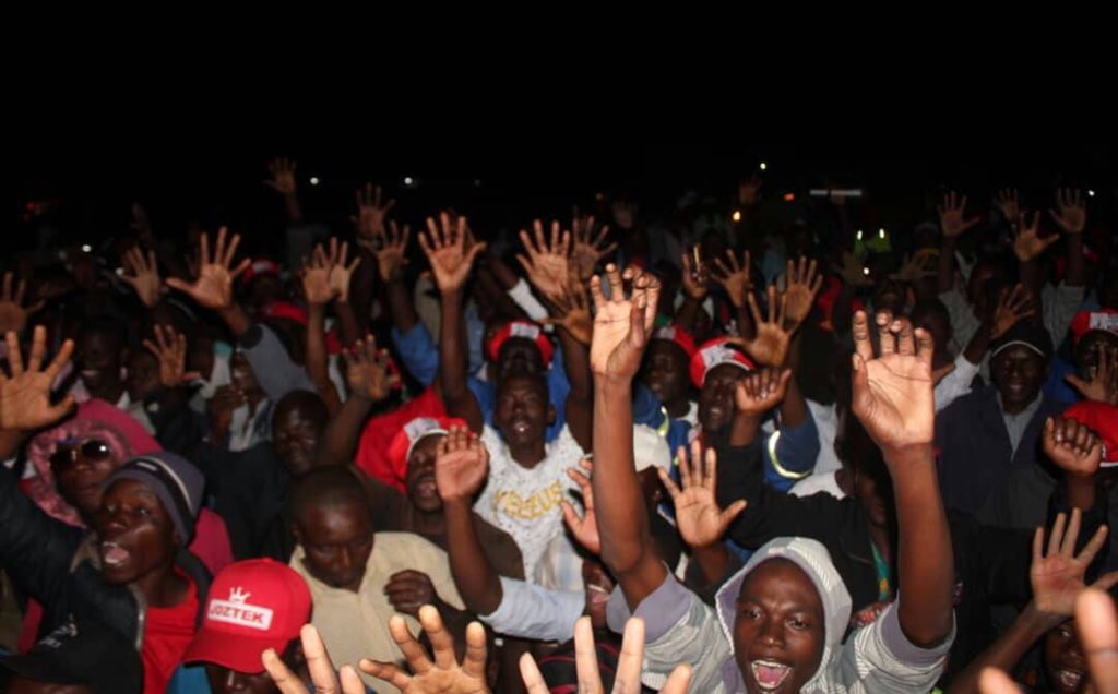 CHAMISA MASVINGO RALLY A HIT ! :PICTURES
