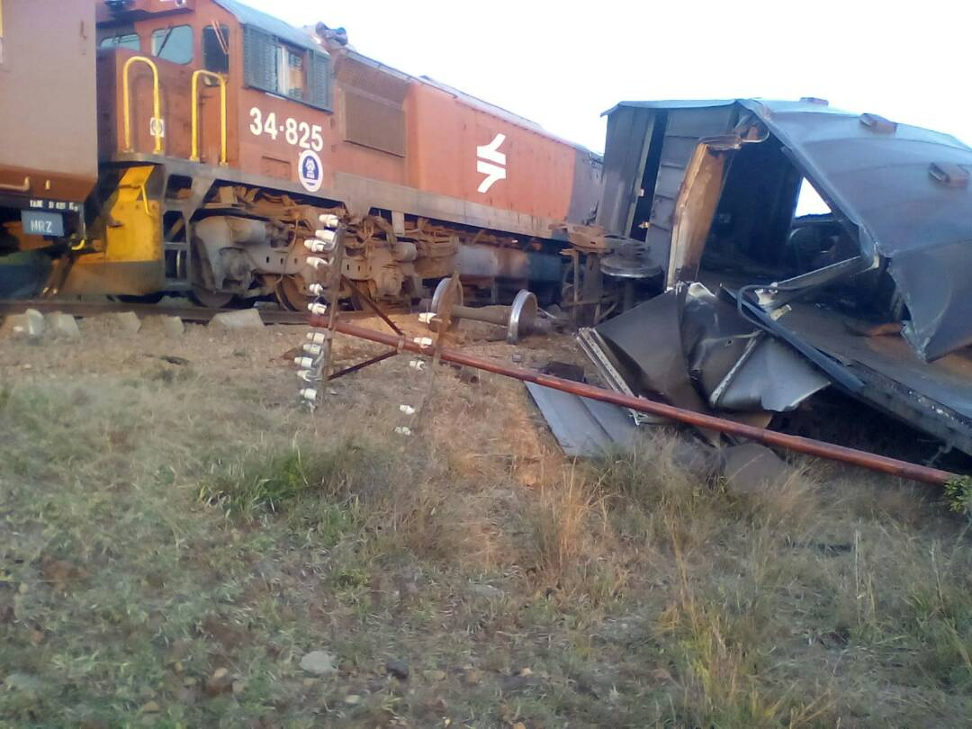 NRZ TRAINS IN HEAD ON COLLISION