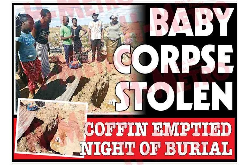 GRAVE OPENED, CORPSE STOLEN…Family suspects juju