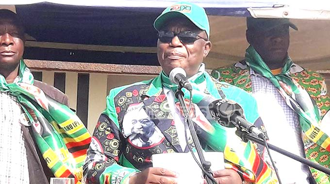 We deliver on promises, says VP Chiwenga