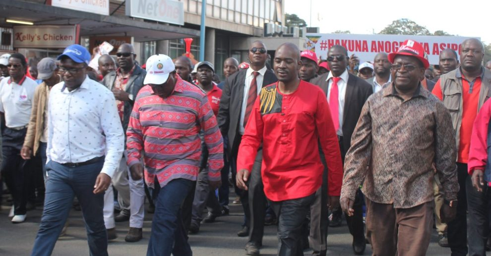 MDC Demo: Chigumba Invites Chamisa For Talks