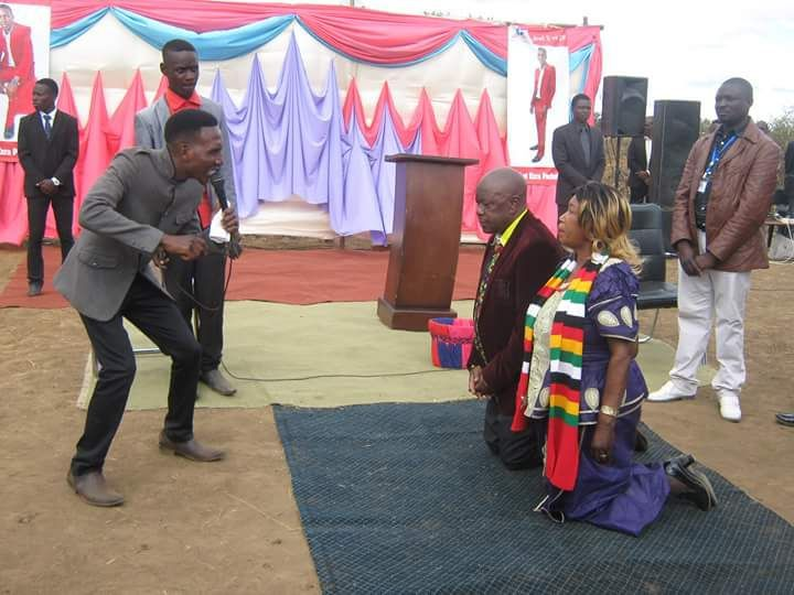 Mutsvangwa In 'One On One With The Man Of God'