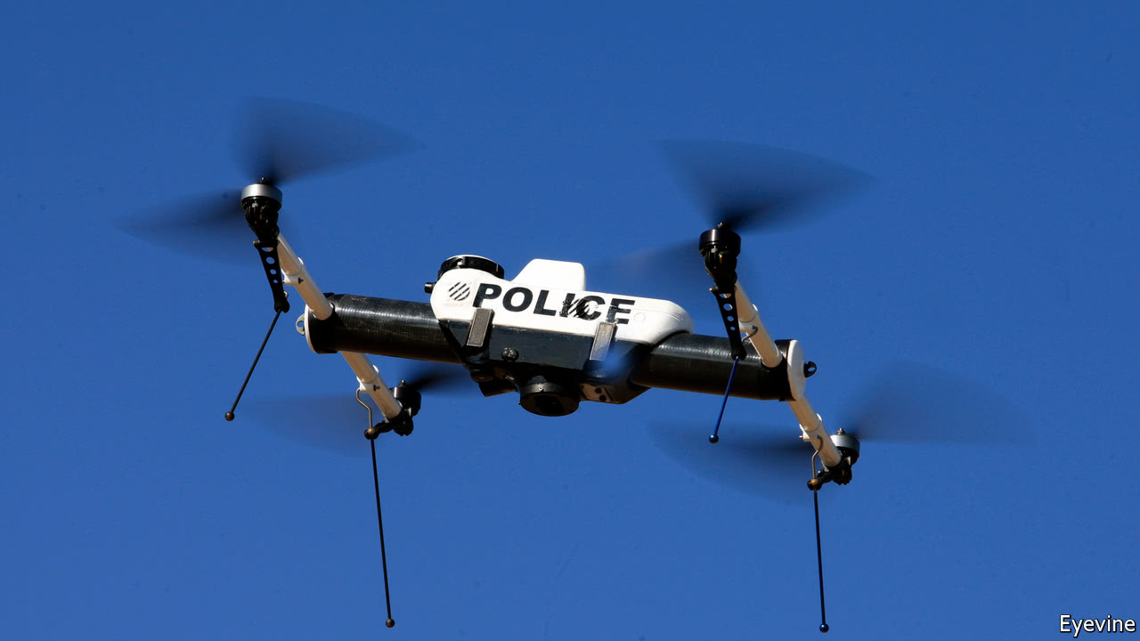 Police Introduce Drones To Monitor Rallies