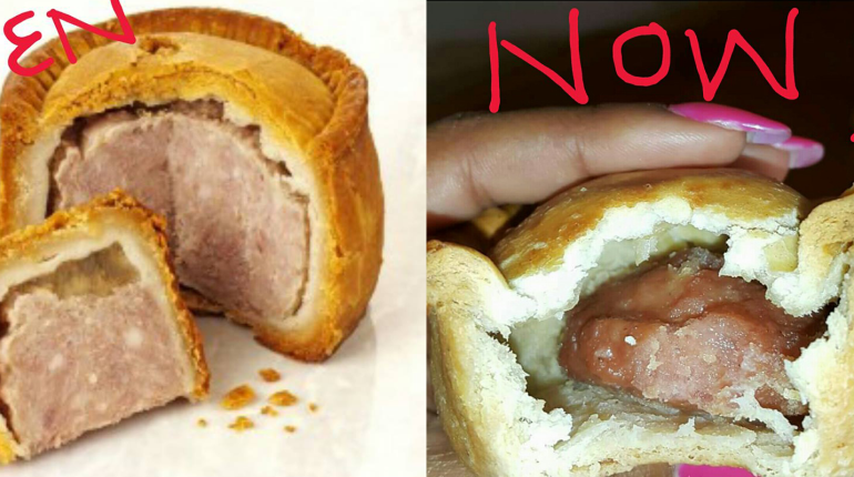 Colcom Breaks Silence On 'Shrinking' Pork Pie Size