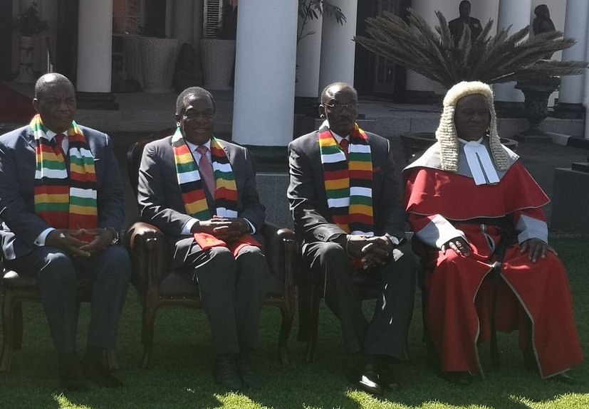 Chiwenga, Mohadi sworn-in as VPs