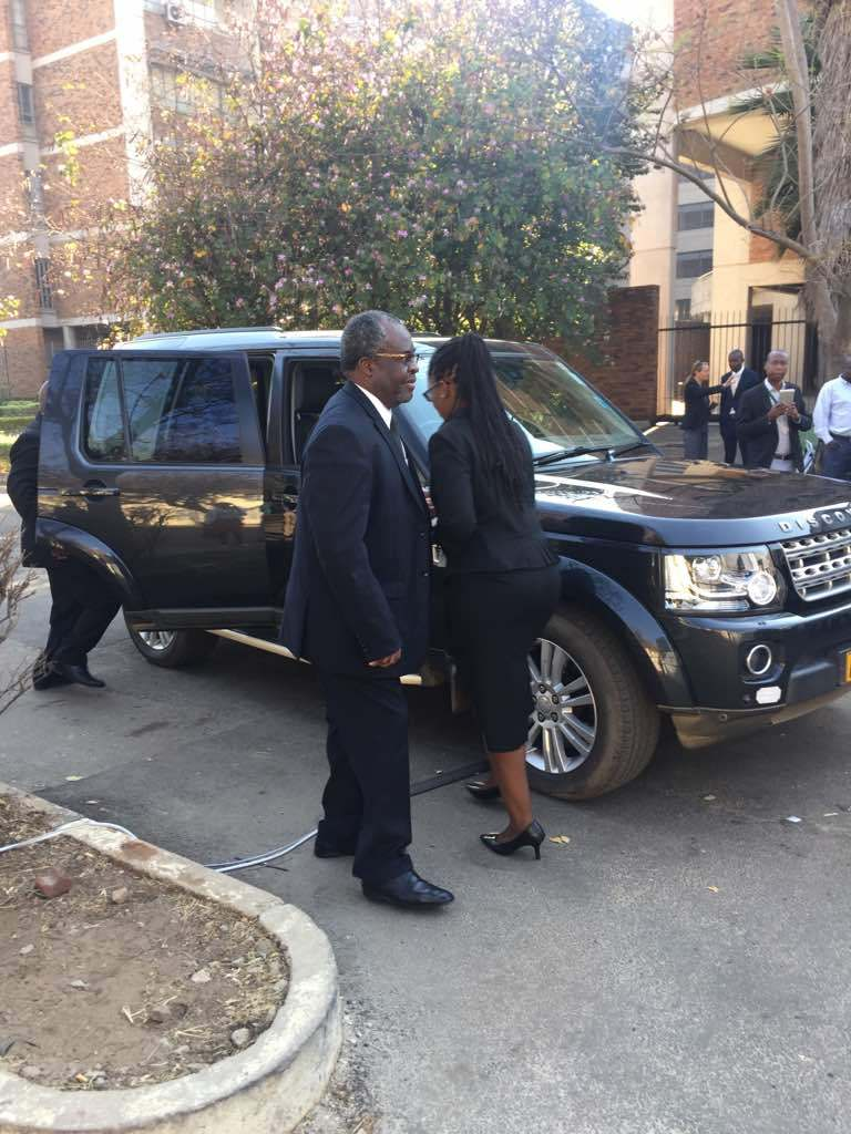 Judges Presiding Over Chamisa's Petition Arrive At ConCourt : pictures