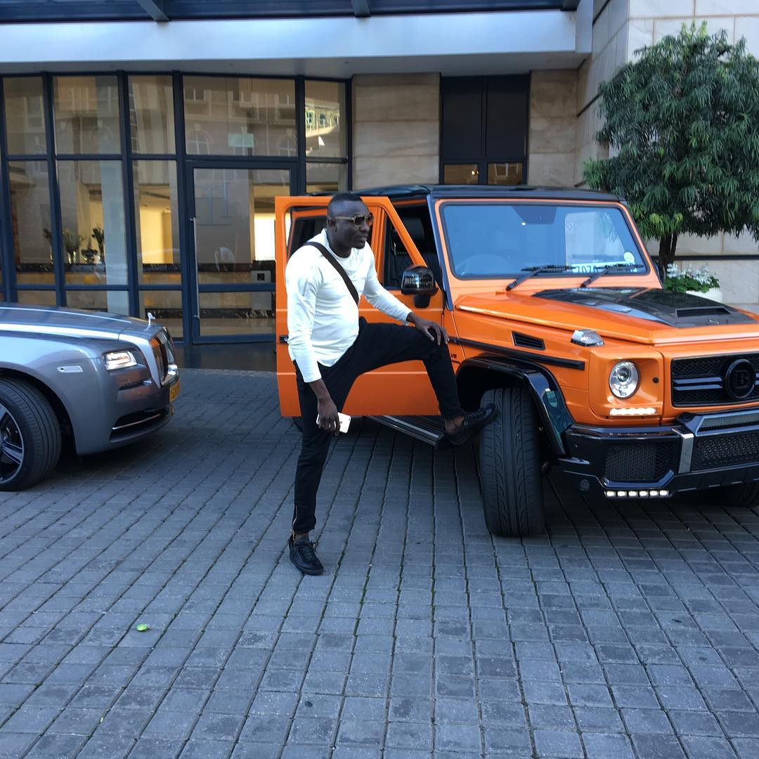 PICTURES OF GINIMBI'S FLEET OF EXPENSIVE LUXURY CARS THAT HAVE SET SOCIAL  MEDIA CRAZY - ZiMetro News